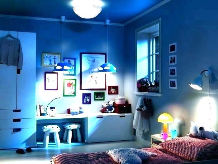 iluminacion en la habitacion de los niños