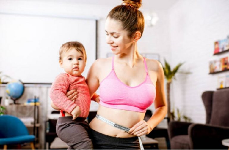 bajar de peso despues del embarazo